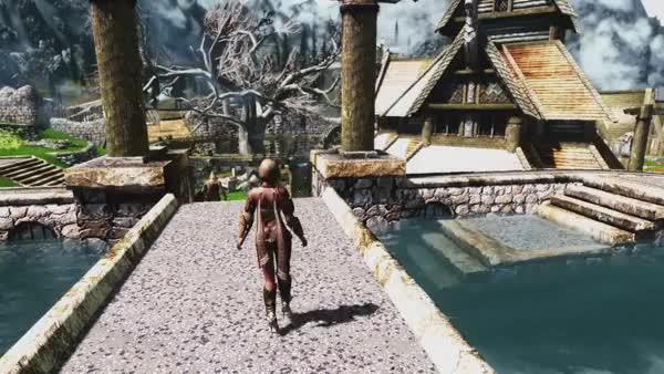 Watch Skyrim Mods Review 15: Blacksmith Apron Minidress, FR Girl Followers, Campsite, Tamriel Reloaded. (reddit) GIF on Gfycat. Discover more related GIFs on Gfycat