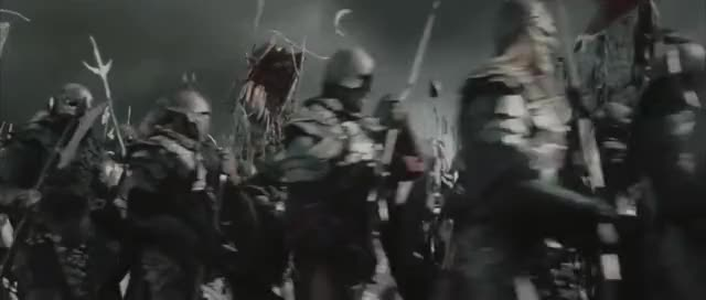 Watch and share Lotr Orc Marching GIFs on Gfycat