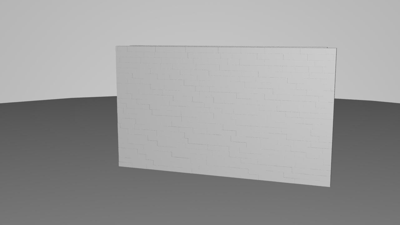 Simulated, houdini, Breaking Wall GIFs