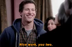 Watch and share Brooklyn Nine Nine GIFs and Amy Santiago GIFs on Gfycat