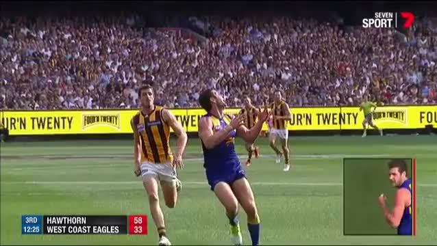 Watch Hawks make Darling pay - AFL GIF on Gfycat. Discover more AFL, Aussie Rules, Australian Rules Football GIFs on Gfycat