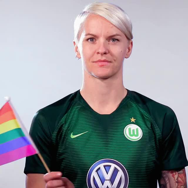Watch and share 4 Flag Rainbow GIFs by VfL Wolfsburg on Gfycat