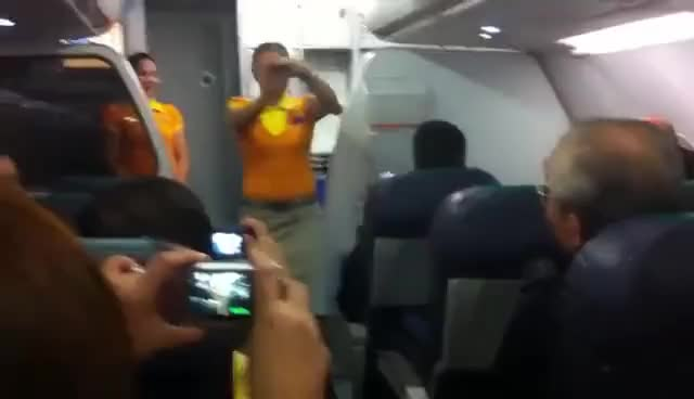 Watch Cebu Pacific Flight Attendants Dancing GIF on Gfycat. Discover more related GIFs on Gfycat