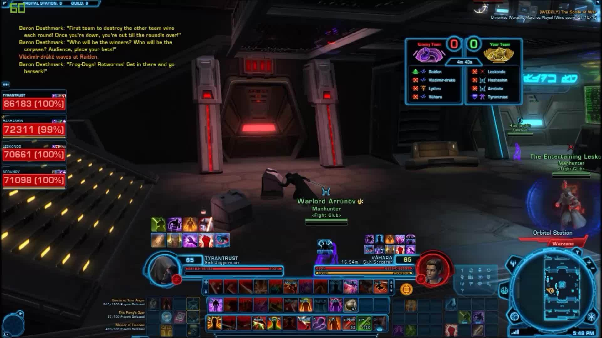 swtor, Instant Karma: Prey leaves the safety of the pack to stealth CC, proceeding to be shortly punished. (reddit) GIFs