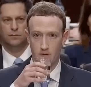 Watch humans drink water, it's normal GIF by @redditor on Gfycat. Discover more mark zuckerberg GIFs on Gfycat