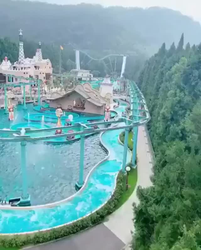 Watch and share The Formosan Village Waterpark In Taiwan GIFs by MyNameGifOreilly on Gfycat
