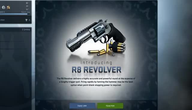 Watch and share CSGO: The R8 Revolver GIFs on Gfycat
