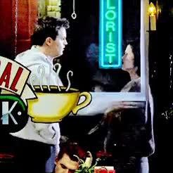 Watch and share Chandler Bing GIFs and Monica Geller GIFs on Gfycat