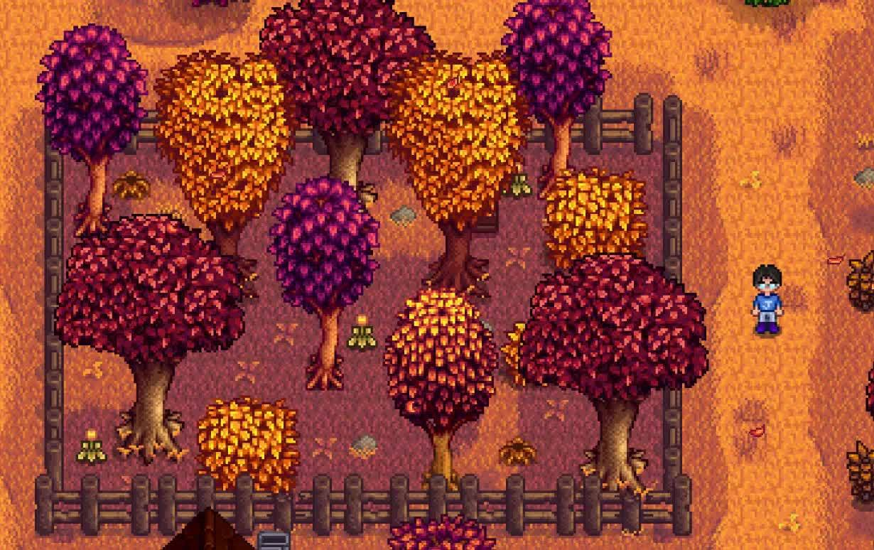 StardewValley, stardewvalley, So are forage items suppose to spawn there? (reddit) GIFs