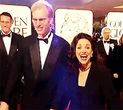 Watch and share Julia Louis Dreyfus GIFs and Red Carpet GIFs on Gfycat