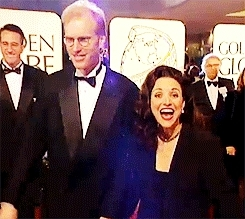 *, enough said, event, gif, jld, julia louis dreyfus, other, red carpet, seinfeld, snl, the new adventures of old christine, veep, fuck yeah julia louis-dreyfus GIFs