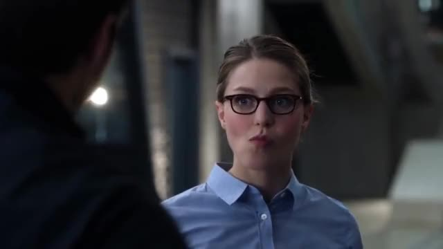 Watch Supergirl 2x13 Mon-El and Kara's comical fight in the DEO GIF on Gfycat. Discover more melissa benoist GIFs on Gfycat