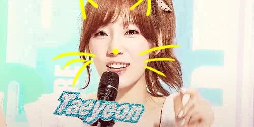 Watch and share Taeyeon GIFs on Gfycat