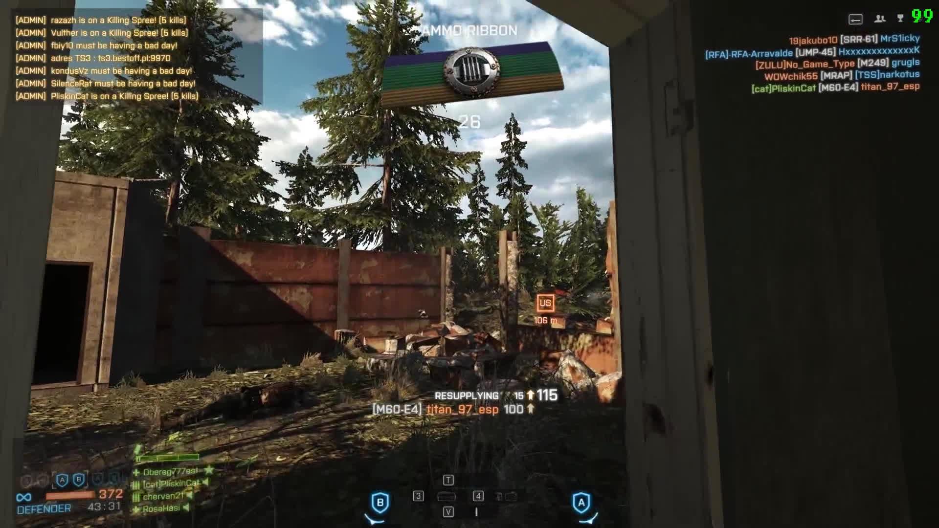 battlfield 4, bf4, Battlefield 4 Multikill GIFs