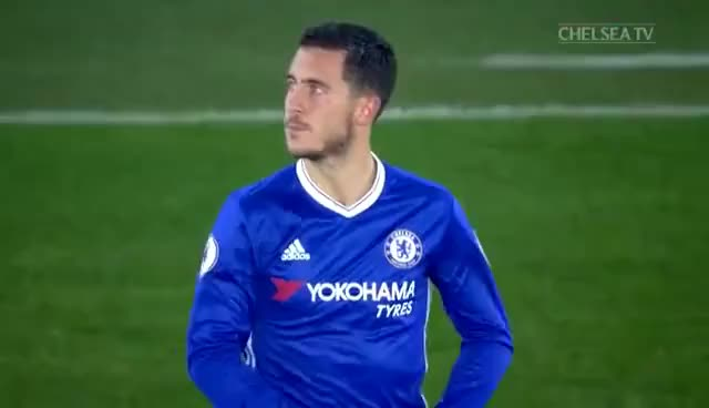 Watch and share Happy Hazard Hardcore... PFA Fan's POTM Eden Hazard Throws A Few Shapes At Half-time At St Mary's GIFs on Gfycat
