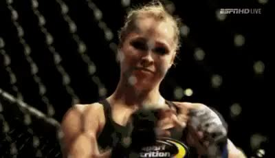 Watch and share Ronda Rousey GIFs and Rondarousey GIFs on Gfycat