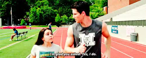 Watch and share Bianca And Wesley GIFs and Robbie Amell GIFs on Gfycat