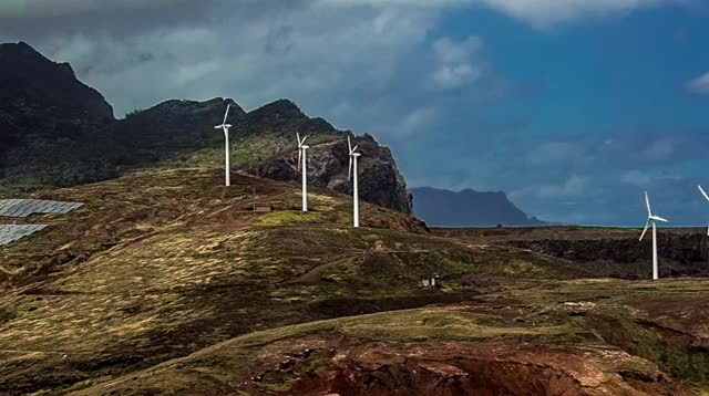 Watch and share Windfarm GIFs and Madeira GIFs by tombrcz on Gfycat