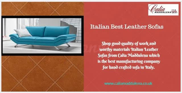 Italian Leather Sofas Manufacturers GIF by caliamaddalena ...
