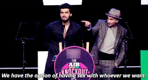 Watch and share | Arjun Kapoor And Ranveer Singh GIFs on Gfycat
