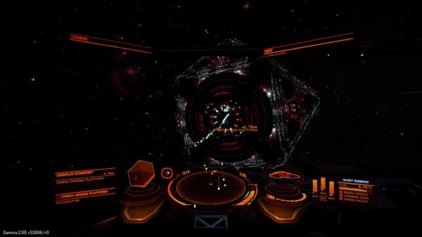 elitedangerous, That moment when you approach a station as a smuggler with silent running on, forgot to request docking, have your docking entrance blocked and the station already shooting through the port... (reddit) GIFs