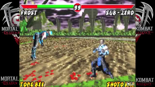 Watch and share Deadly Alliance - GBA Fatality GIFs by 76sup on Gfycat
