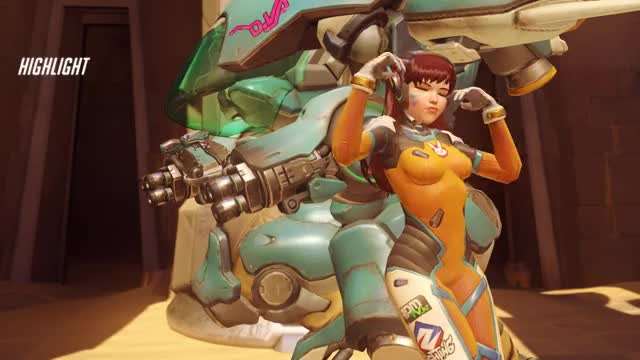 Watch and share Highlight GIFs and Overwatch GIFs by Turbostarow on Gfycat