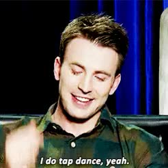 Watch Chris Evans + tap dancing GIF on Gfycat. Discover more 10k, chris evans, chrisevansz, christopherevanz, evansedit, gifs*, marvelcastedit, mine GIFs on Gfycat