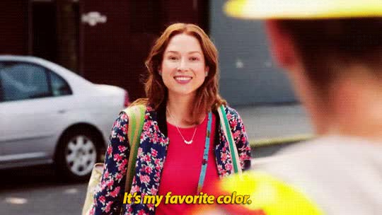 Watch and share Ellie Kemper GIFs and Color GIFs on Gfycat