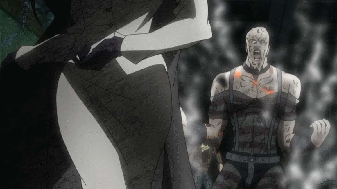 animegifs, Don't mess with her [JoJo's Bizarre Adventure] (reddit) GIFs