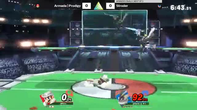Watch and share SSBU Gren |Nair/Fair Vs Mario GIFs by YungGekkouga on Gfycat