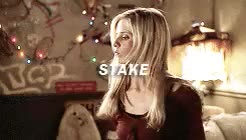 Watch and share Buffy Summers GIFs and Violence Cw GIFs on Gfycat