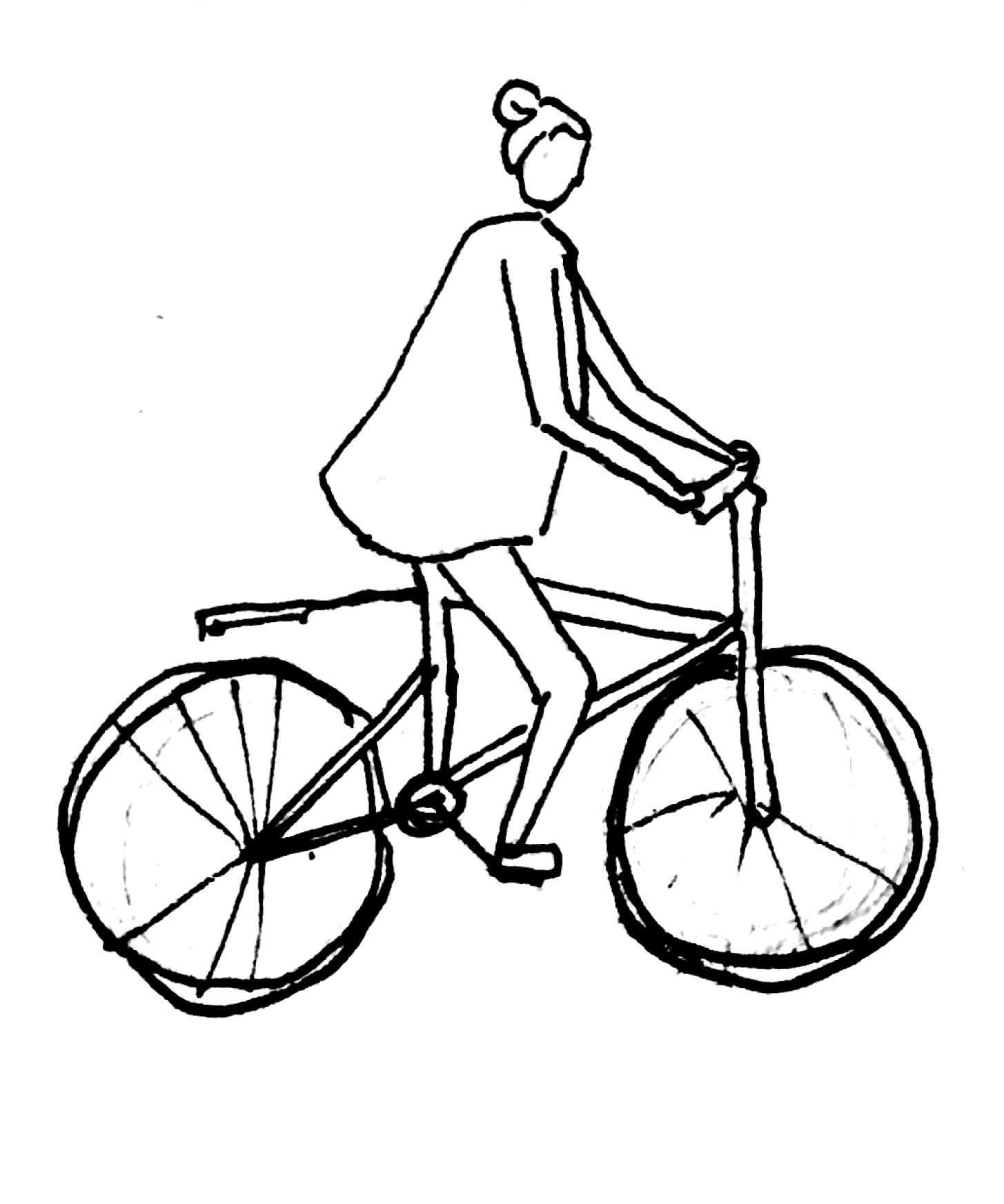 vélo fille 1 GIFs
