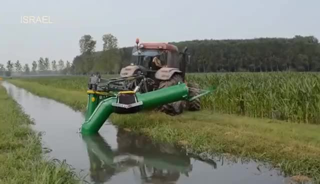 Watch and share Technology Machines, New Modern Agriculture Machines 2017:  Water Wheel Pump Compilation GIFs on Gfycat