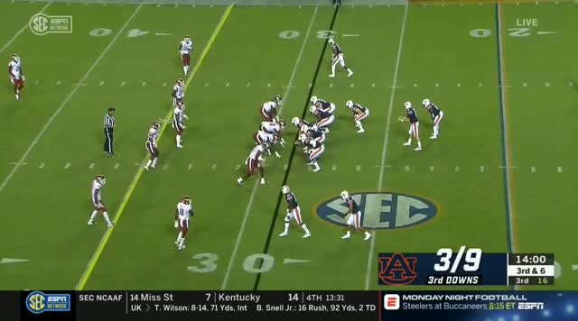 Watch NCAAF.2018.Week04.Arkansas.at.Auburn.TYT GIF on Gfycat. Discover more football GIFs on Gfycat
