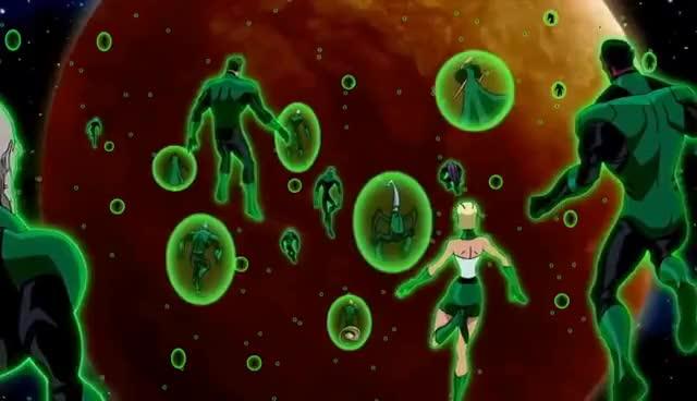 Watch and share The Green Lantern Corps Vs Krona   Green Lantern Emerald Knights Best Quality HD GIFs on Gfycat