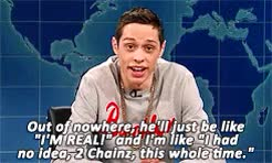 Watch Hidden Narnia! GIF on Gfycat. Discover more SNL, pete davidson, saturday night live, snl gif, weekend update GIFs on Gfycat