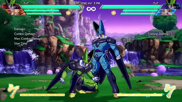 Watch and share DBFZ Block String Ender OS Special Cancel Too Slow GIFs on Gfycat