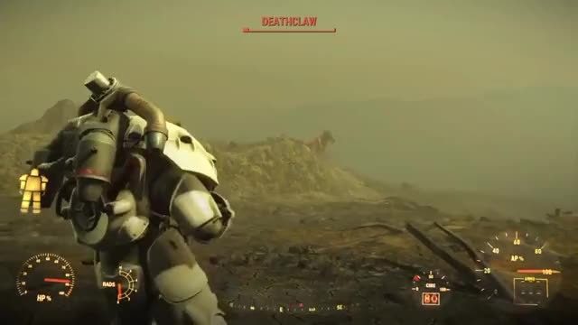Watch Deathclaw Joust GIF on Gfycat. Discover more Deathclaw, Fallout GIFs on Gfycat