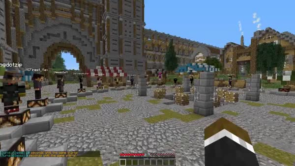 SPECIAL Minecraft Hunger Games YOUTUBER EVENT w