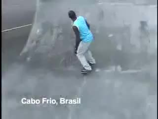 Watch cabo frio, barefoot skater GIF on Gfycat. Discover more barefoot, skater, sport GIFs on Gfycat