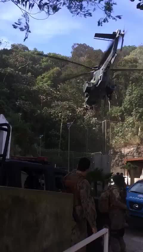 Watch and share Forças Especiais Estão Dominando A Rocinha, RJ GIFs on Gfycat
