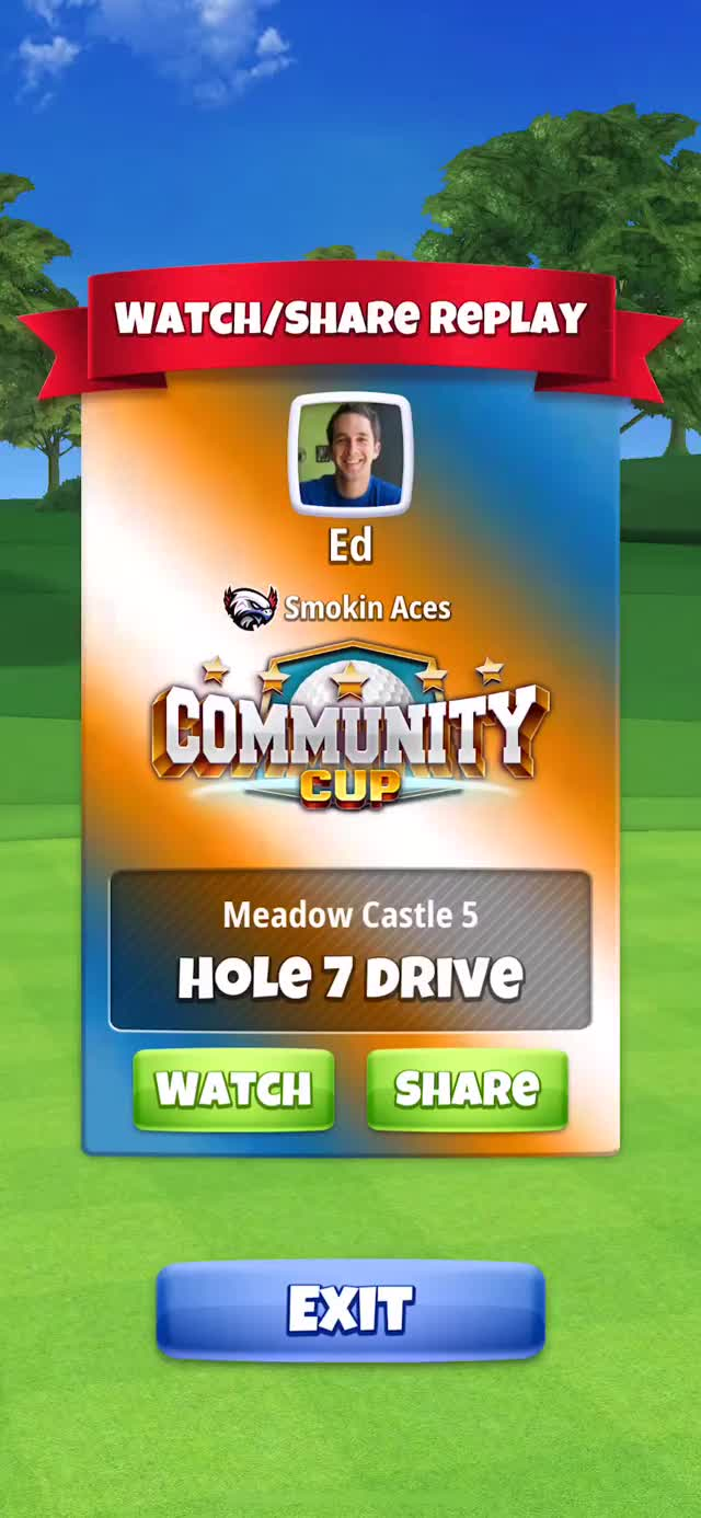 Watch and share Community Cup - Masters - Hole 7 Drive Q1 GIFs on Gfycat