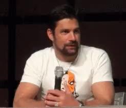 Watch and share Phoenix Comic Con GIFs and John Barrowman GIFs on Gfycat