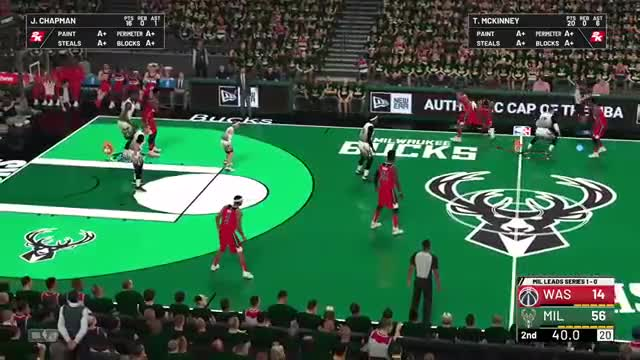 Watch and share Bucks Cjh GIFs and Nba 2k19 GIFs on Gfycat