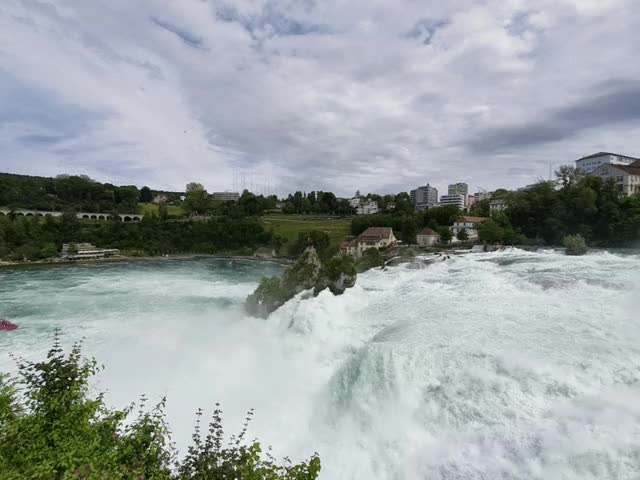 Watch The majestic Rheinfall in Switzerland GIF on Gfycat. Discover more related GIFs on Gfycat