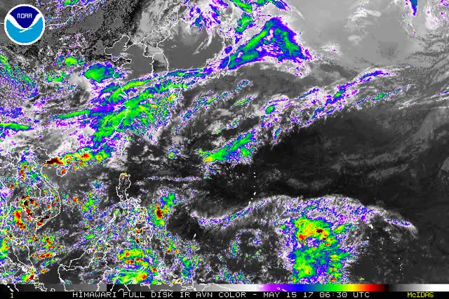 Watch and share Western Pacific Tropical Activity GIFs on Gfycat
