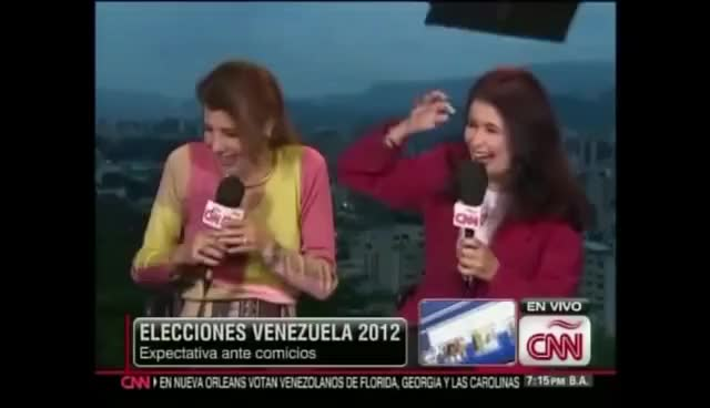 Watch news sucker punch GIF on Gfycat. Discover more blooper GIFs on Gfycat