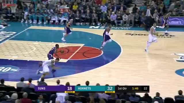Watch and share Charlotte Hornets GIFs and Phoenix Suns GIFs on Gfycat