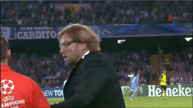 Watch and share Post Borussia Dortmund Manager Jurg GIFs on Gfycat